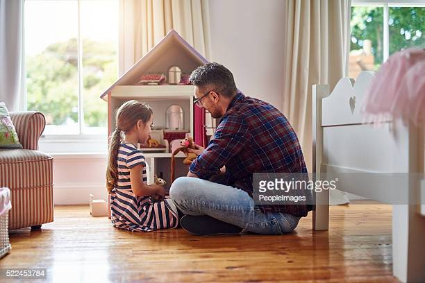 Die Zeit spielt mit Kindern ist nie zustande