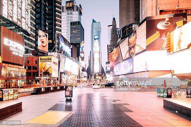 Time Square at Daybreak