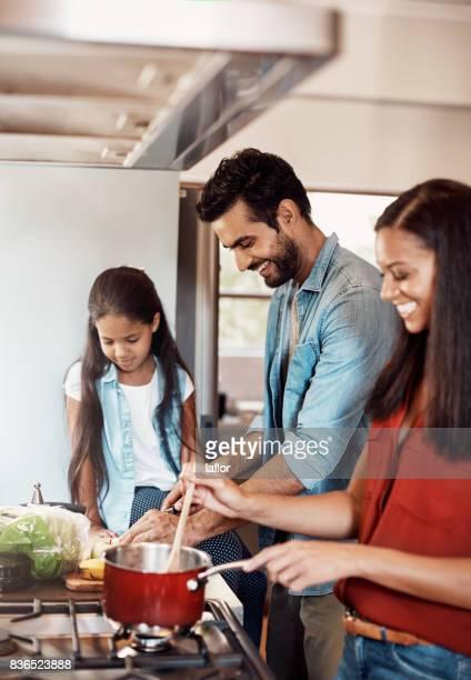Zeit zum Kochen, zum Verkleben