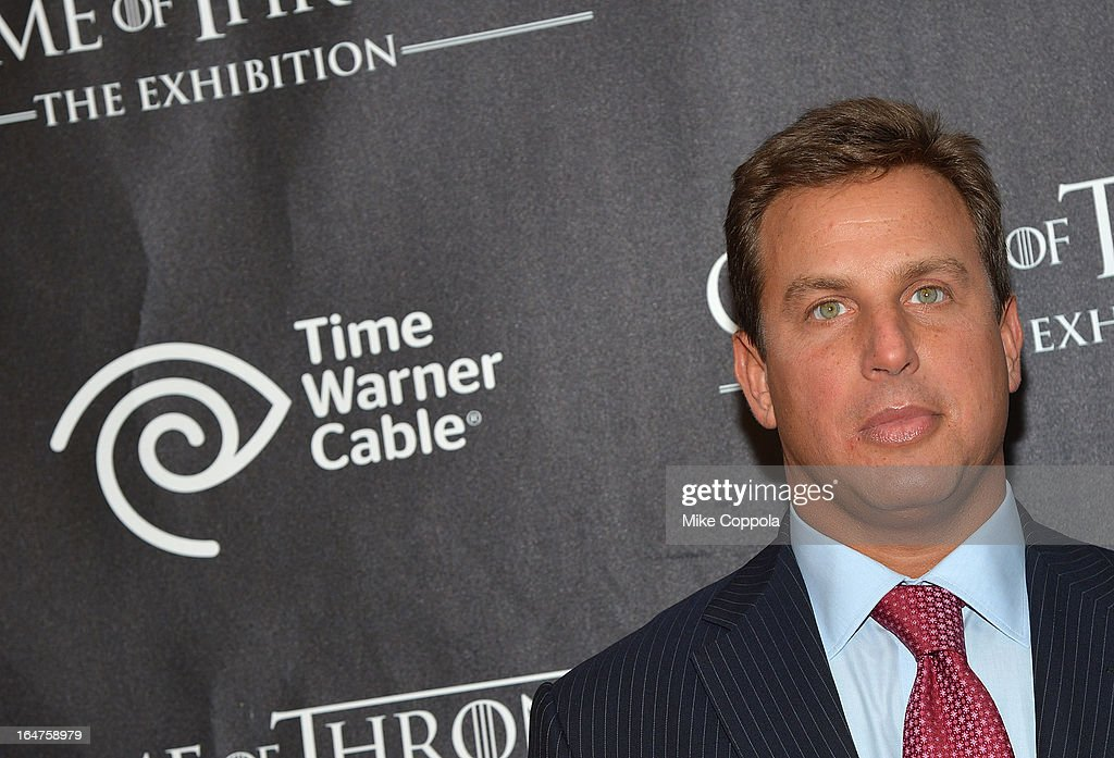 Time Warner Cable CMO Jeff Hirsch attends 'Game Of Thrones' The Exhibition New York Opening at 3 West 57th Avenue on March 27, 2013 in New York City.