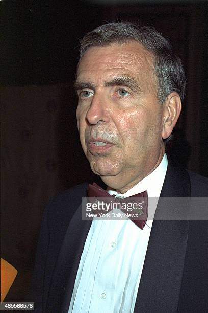 AOL Time Warner CEO Gerald Levin is on hand at a UJAFederation dinner at the WaldorfAstoria