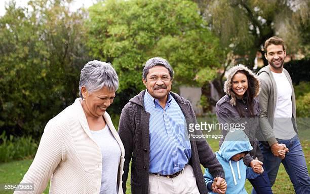 Zeit mit der Familie ist wertvoll