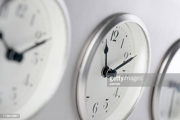 Relógios de fuso-horário