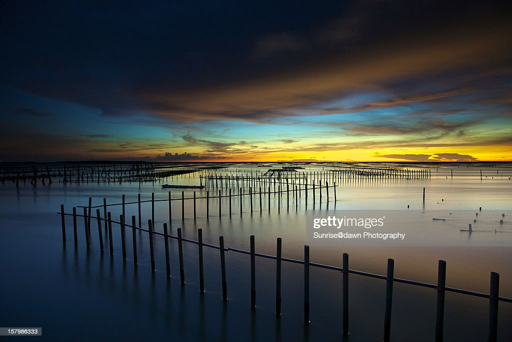 Timeless Dusk @ Chigu : Stock Photo