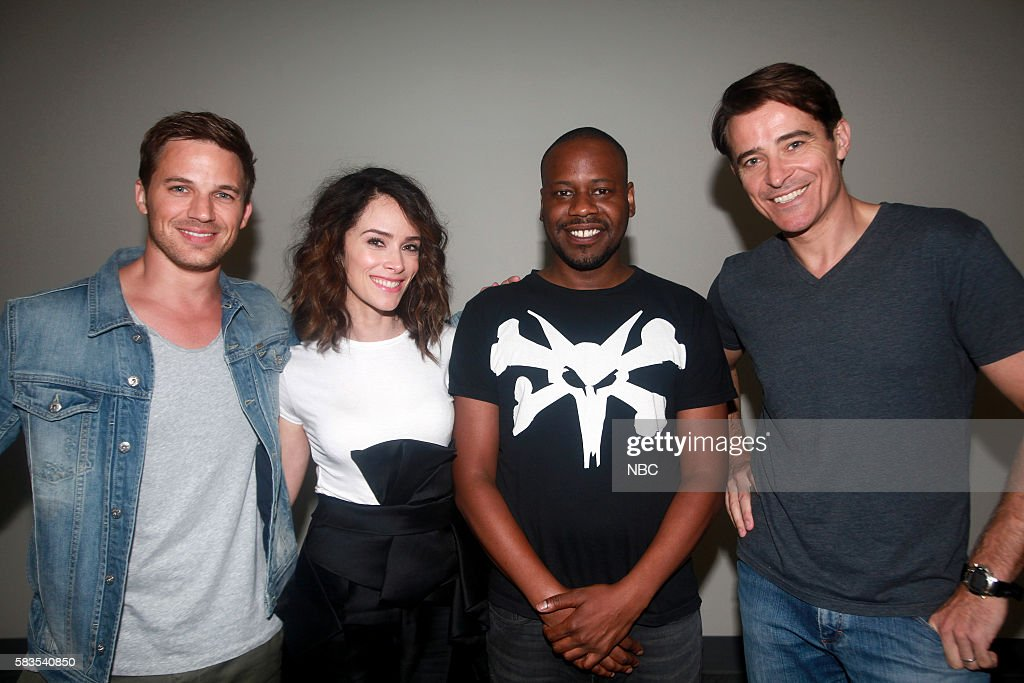 """NBC's """"Comic-Con 2016 International"""" - Timeless Press Room and Panel"""