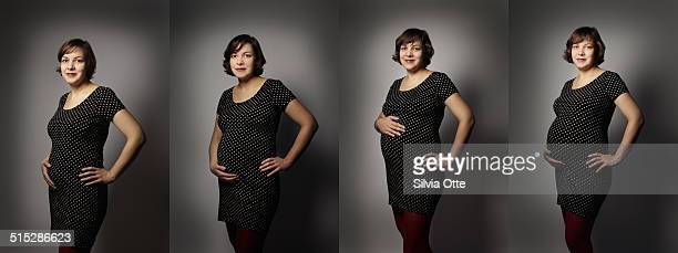 Timeline of pregnant woman