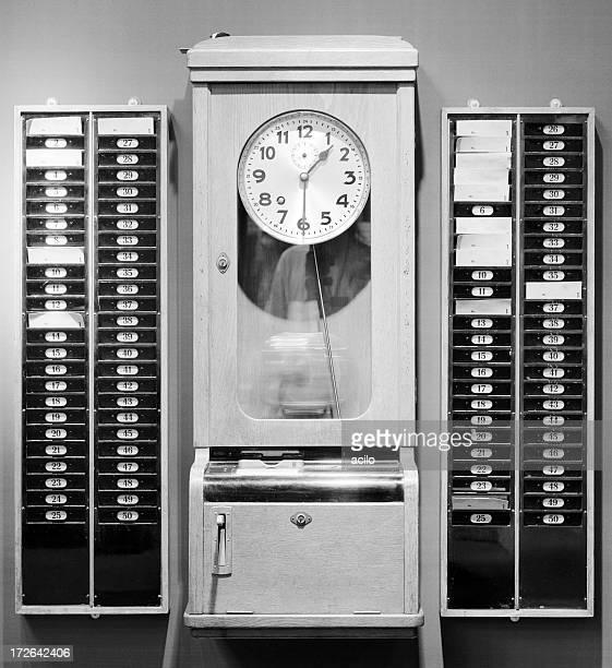 Temps-punch machine