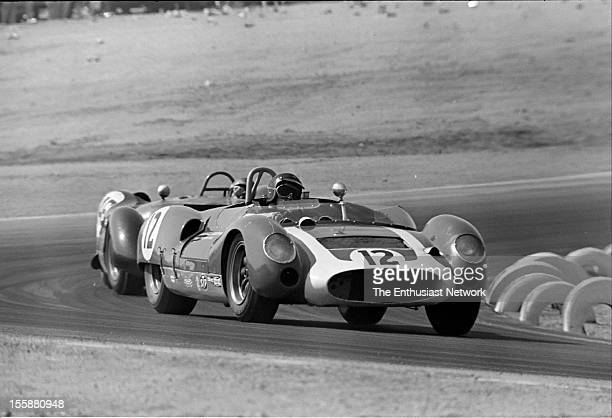 Times Grand Prix Riverside George Wintersteen driving a Chevrolet powered Cooper Monaco T61M