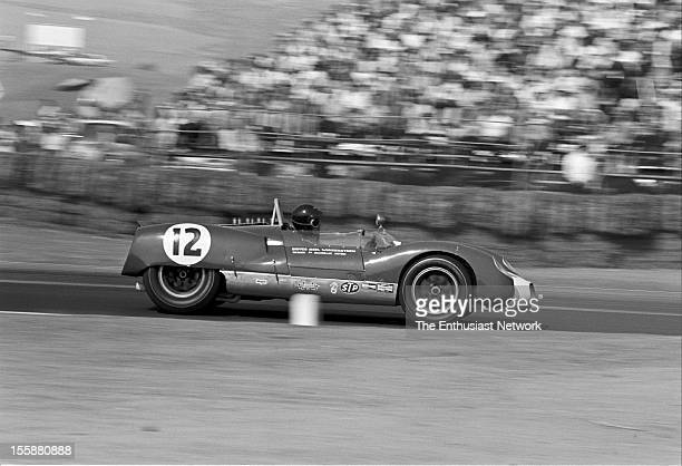 Times Grand Prix Riverside George Wintersteen driving his Chevrolet powered Cooper Monaco T61M
