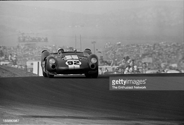 Times Grand Prix Riverside Richie Ginther of Shelby American driving a Ford powered Cooper MonacoKing Cobra
