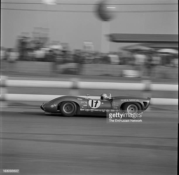 Times Grand Prix Riverside Walt Hansgen in the Ford powered Lola T70
