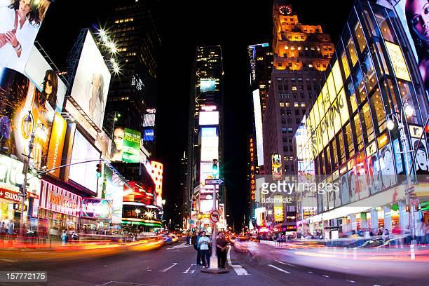 Times Square à l'Action (New York