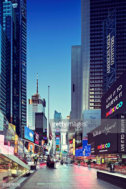 Times Square at sunrise