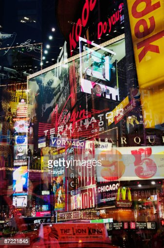 Times Square in New York : Stock Photo