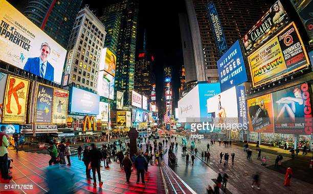 タイムズスクエアにニューヨーク,米国
