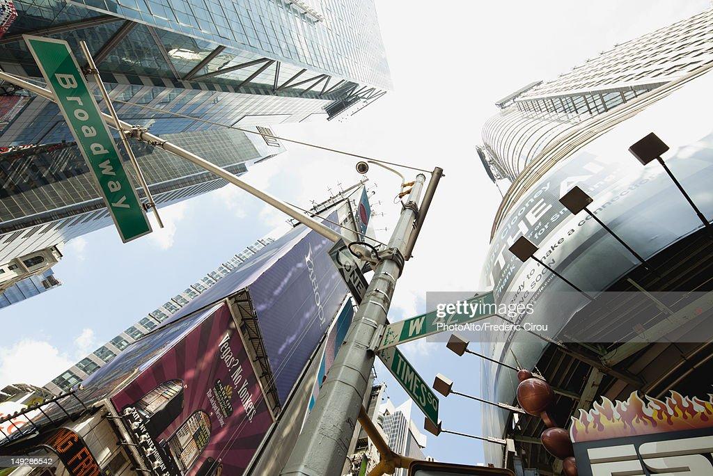 Times Square, Manhattan, New York City, New York, USA : Stock Photo