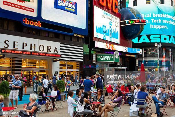 Times Square, à Manhattan, New York City.