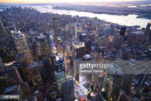 Times Square, Manhattan, New York : Stock Photo