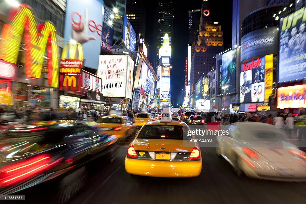 Times Square, Manhattan, New York, USA : Stock Photo