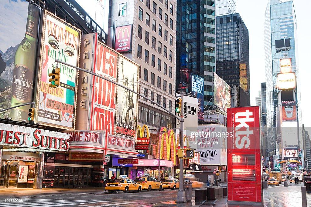 Times Square, New York City, New York, USA : Stock Photo