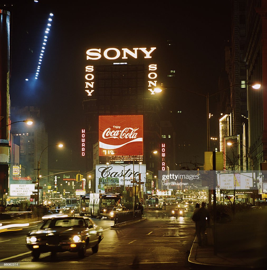 Times Square , New York City : Stock Photo