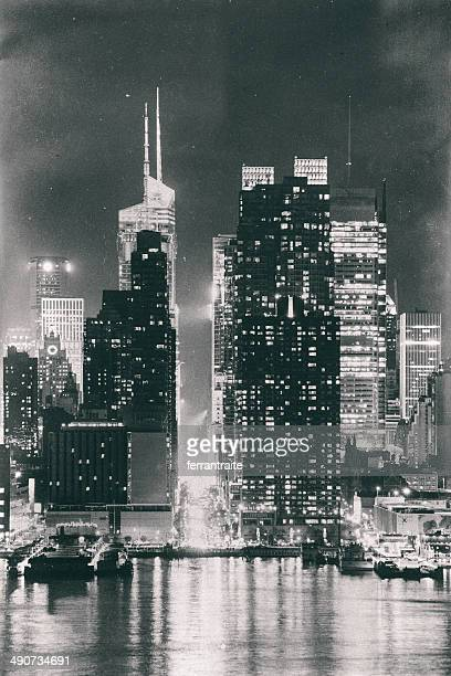 Times Square New York City Skyline