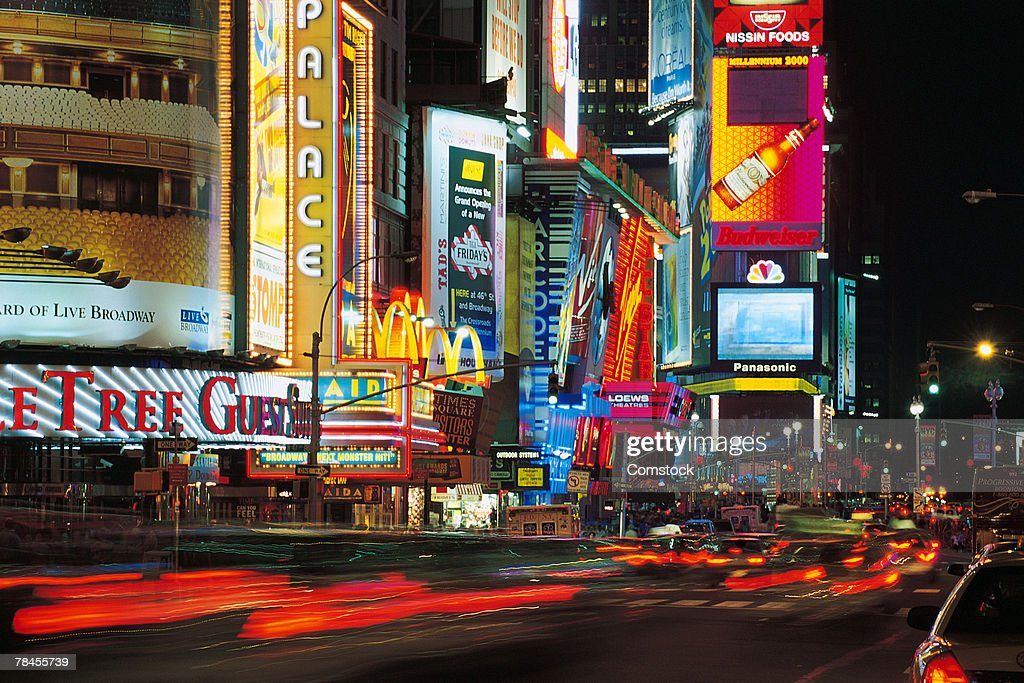 times square new york city usa stock foto getty images. Black Bedroom Furniture Sets. Home Design Ideas