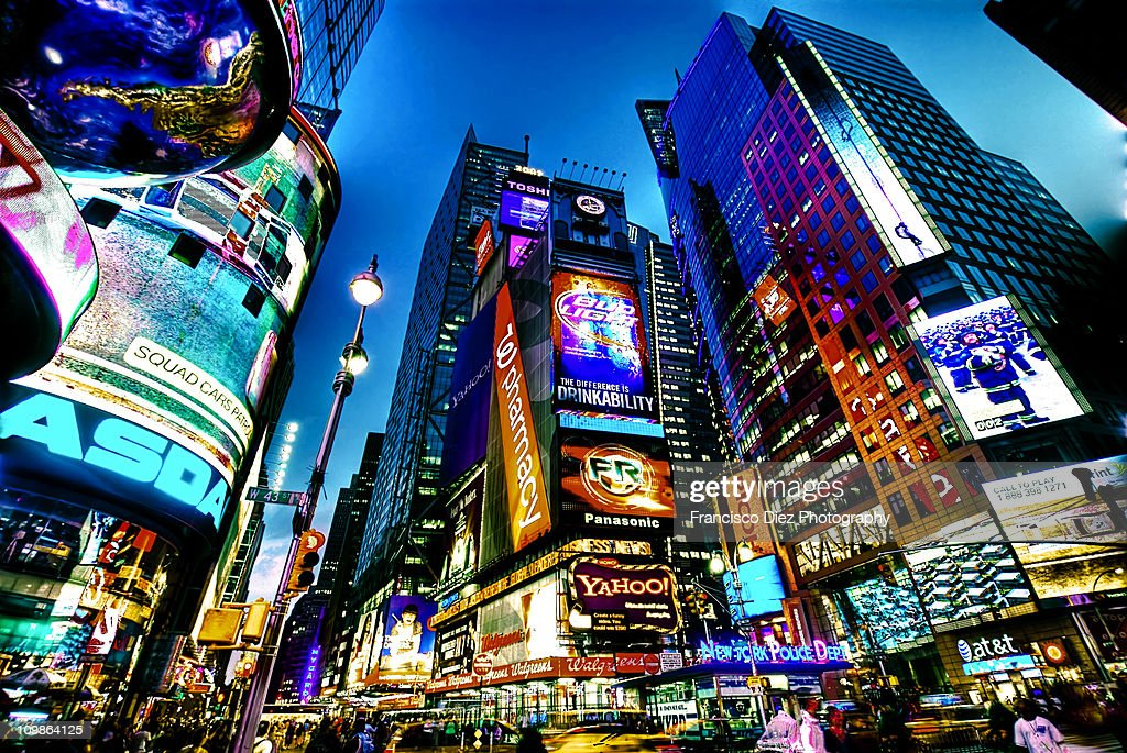 Times Square, NYC : Stock Photo