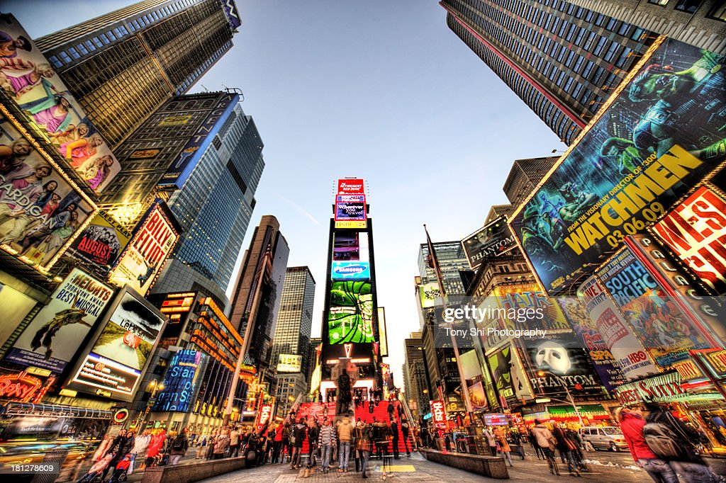 Times Square NYC : Stock Photo