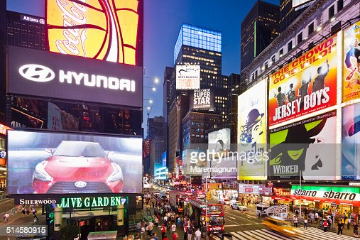 Times Square, Seventh Avenue