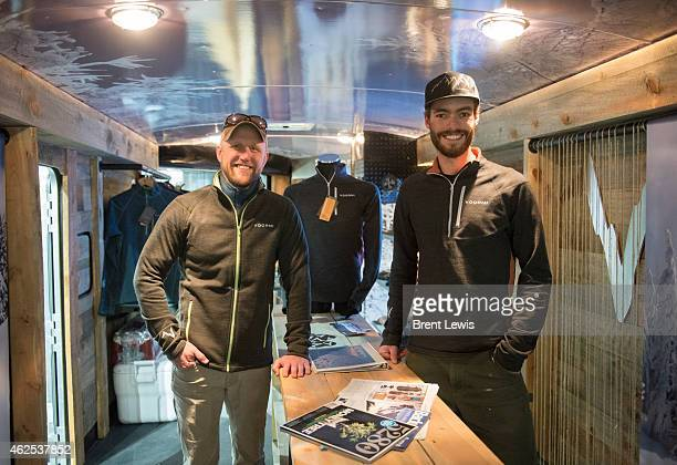 Timm Smith director of brand marketing and Dustin English managing director during the SIA Snow Show on Friday January 30 2015 at the Colorado...