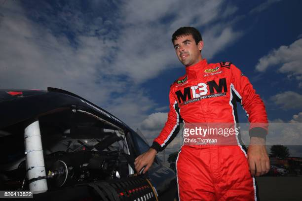 Timmy Hll driver of the OCR Gaz Bar Dodge during practice for the NASCAR XFINITY Series Zippo 200 at The Glen at Watkins Glen International on August...