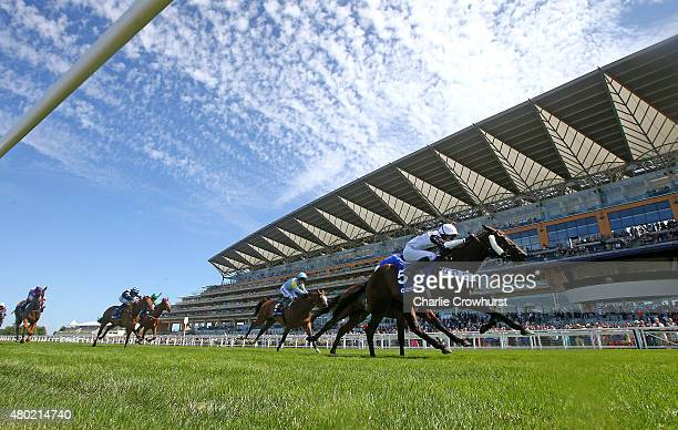 Timmy Murphy rides All Talk N No Do to win The Close Brothers Property Finance Handicap Stakes at Ascot racecourse on July 10 2015 in Ascot England