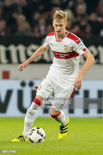 Timo Baumgartl of Stuttgart in action during the Second Bundesliga match between VfB Stuttgart and Hannover 96 at MercedesBenz Arena on December 12...