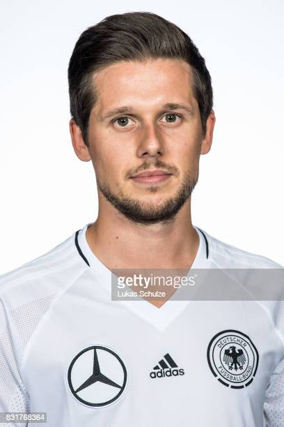 Timo Di Giorgio poses at Sport School Wedau on August 11 2017 in Duisburg Germany