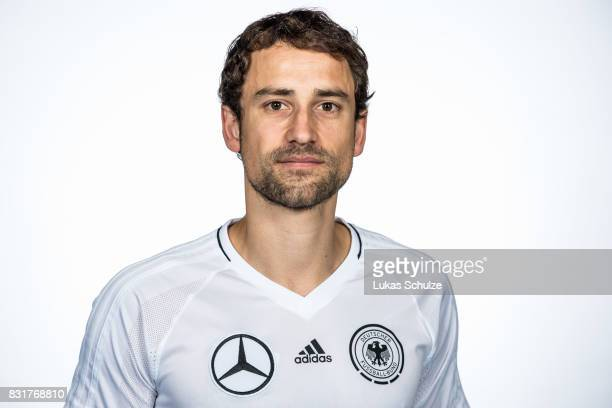 Timo Heinze poses at Sport School Wedau on August 11 2017 in Duisburg Germany
