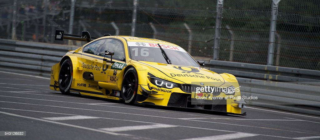 Timo Klock (GER) of BMW Team RMG qualifying for the German Touring Car Championship at the Norisring during Day 2 of the 74. International ADAC Norisring Speedweekend on June 26, 2016 in Nuremberg, Germany.