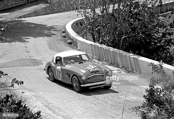 Timo MakinenPaul Hawkins' Austin Healey 3000 racing in the Targa Florio Sicily 1965
