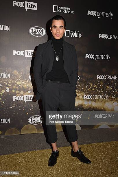 Timor Steffens attends Fox Tv schedule presentation on November 30 2016 in Milan Italy