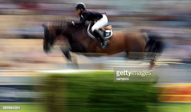 Timothee Anciaume on Lamm de Fetane during the show jumping Stawag Cup at the World Festival CHIO Aachen 2009