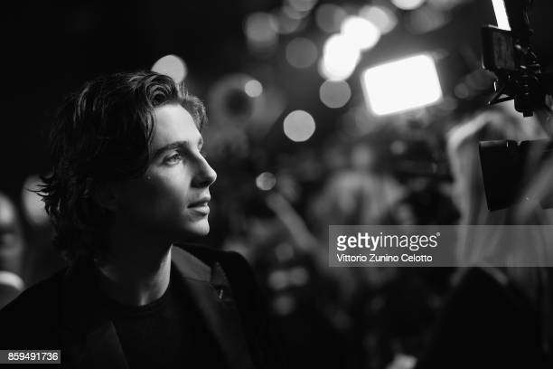 Timothee Chalamet attends the Mayor Of London Gala UK Premiere of 'Call Me By Your Name' during the 61st BFI London Film Festival on October 9 2017...