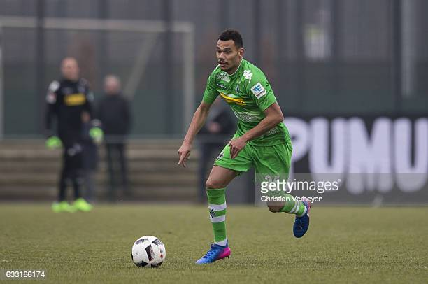 Timothee Kolodziejczak of Borussia Moenchengladbach controls the ball during the Friendly Match between Borussia Moenchengladbach and VfL Bochum at...