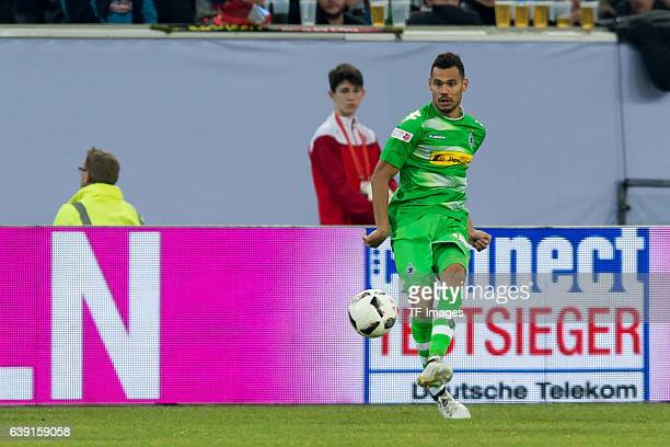 Timothee Kolodziejczak of Borussia Moenchengladbach in action during the Telekom Cup 2017 at EspritArena on January 14 2017 in Duesseldorf Germany