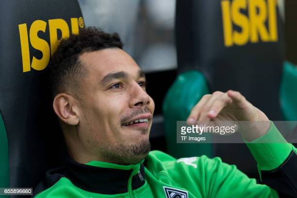 Timothee Kolodziejczak of Borussia Moenchengladbach Kolo looks on during the Bundesliga match between Borussia Moenchengladbach and Bayern Muenchen...