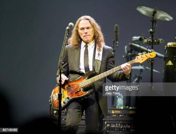 timothy b schmit of the eagles performs live on the long road out of eden tour at u s bank. Black Bedroom Furniture Sets. Home Design Ideas