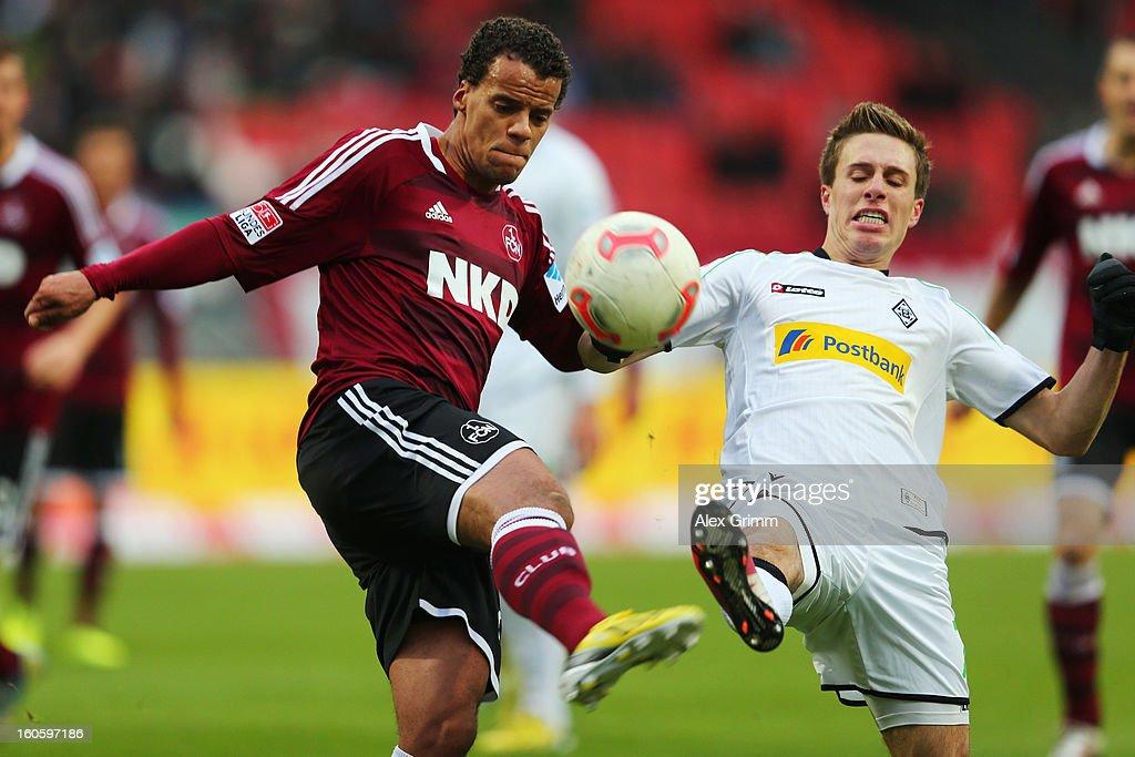 1. FC Nuernberg v VfL Borussia Moenchengladbach - Bundesliga