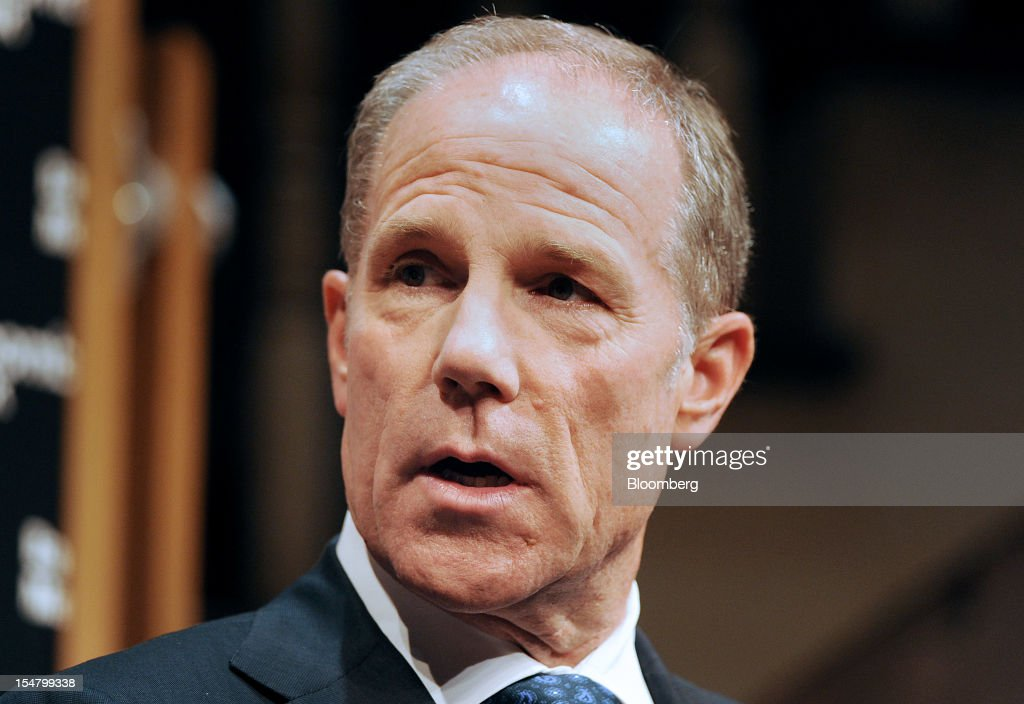 Timothy Coleman, senior managing director at Blackstone Group, speaks at the Bloomberg Dealmaker Summit in New York, U.S., on Thursday, Oct. 25, 2012. The third Bloomberg Dealmakers Summit brings the biggest rainmakers in mergers and acquisitions and private equity to look at deal flow, leveraged buyouts and initial public offering activity from a sector-specific view, exploring, health care, technology and sports amidst the impending U.S. elections. Photographer: Peter Foley/Bloomberg via Getty Images