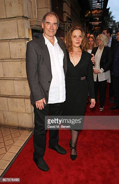 Timothy Dalton and Barbara Broccoli attend the National Youth Theatre's 60th Anniversary Gala 'The Story Of Our Youth At 60' at The Shaftesbury...