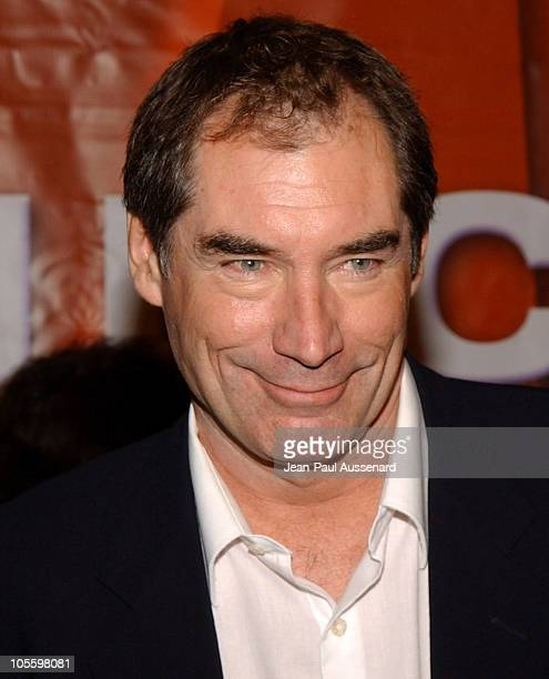Timothy Dalton during NBC Winter Press Tour Party Arrivals at Universal CityWalk in Universal City California United States