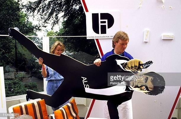Timothy Dalton in Hamburg Germany on July 15 1987Template of James Bond